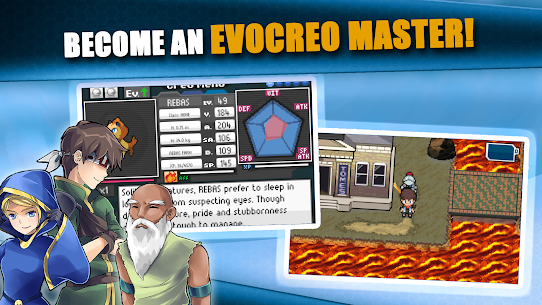 EvoCreo – Catch, Train and Evolve Evo Creatures! Mod Apk Download For Android and Iphone 6