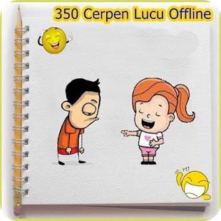 350 Cerpen Lucu Offline - náhled