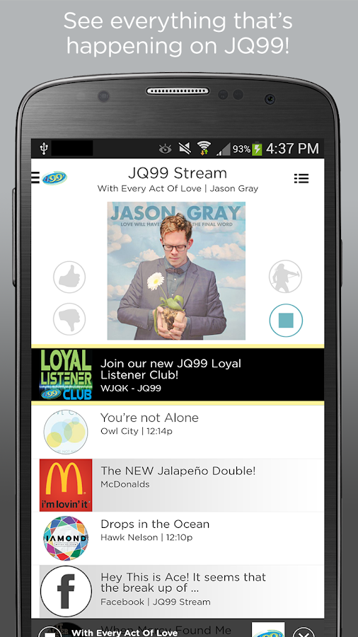 JQ99.3- screenshot