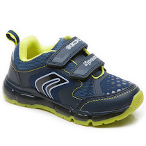 Geox Android Boy Trainer VELCRO LIGHTS