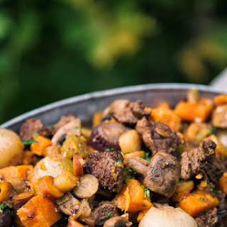 Slow Cooker Beef And Onion Stew.