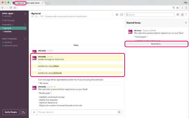 Slack View Optimizer