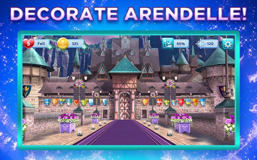 Disney Frozen Adventures: Customize the Kingdom apkmr screenshots 1