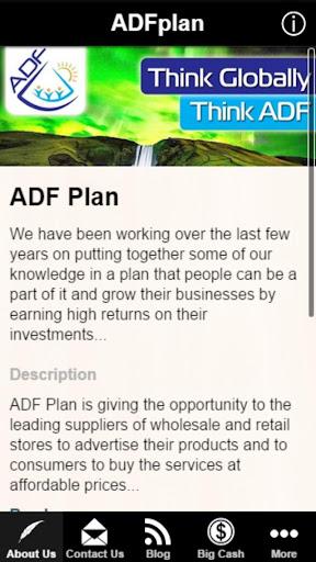 ADF Plan App