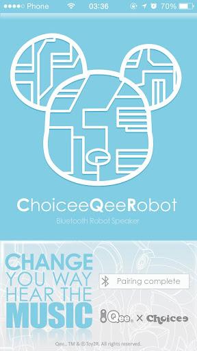 Choicee Qee Robot 藍芽機器人喇叭