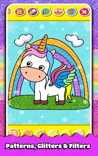 Princess Coloring Book for Kids & Girls Games ud83cudfa8 screenshots 13