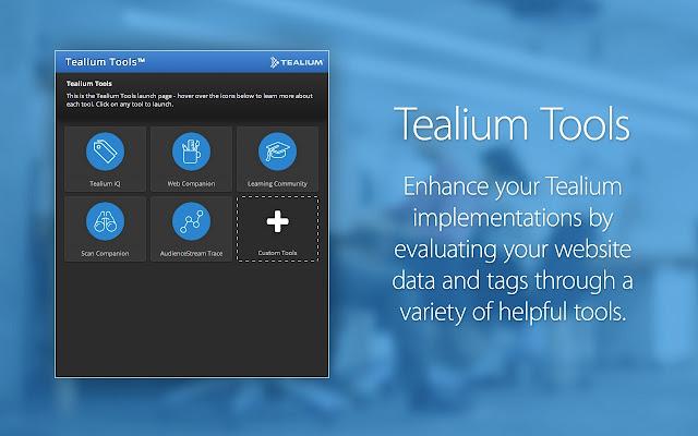 Tealium Tools