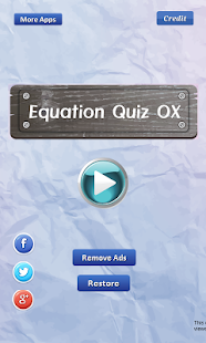 Equation Quiz OX - Math games- screenshot thumbnail