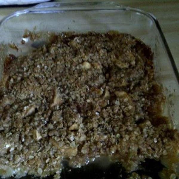 Oatmeal Applecrisp Recipe