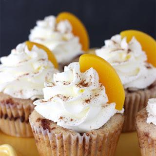 Peach Cobbler Cupcakes.