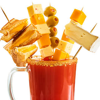 Extreme Cheese Lovers Bloody Mary.