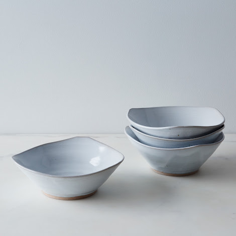 Triangle Salad Bowls (Set of 4)