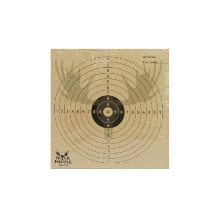 Black Moose/Wildgame 50st Måltavlor 10-ring
