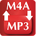 Convert m4a to mp3 icon