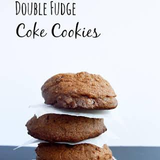 Double Fudge Coke Cookies.