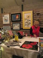 Photo: Bijzondere kunstwerken van mevrouw Hoffman bij Buurvrouw Mariëtte