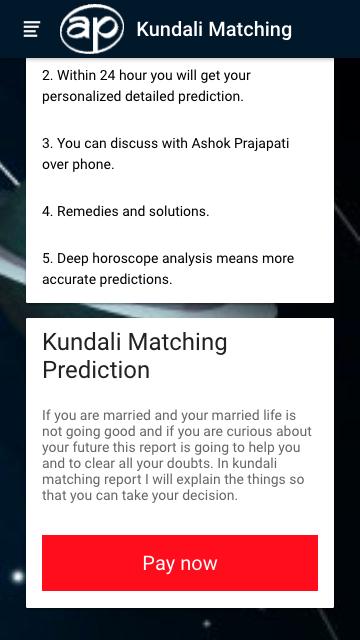 Online Kundli matchmaking per nome