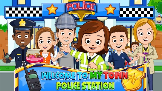 My Town : Police Station Pretend games for Kids 1