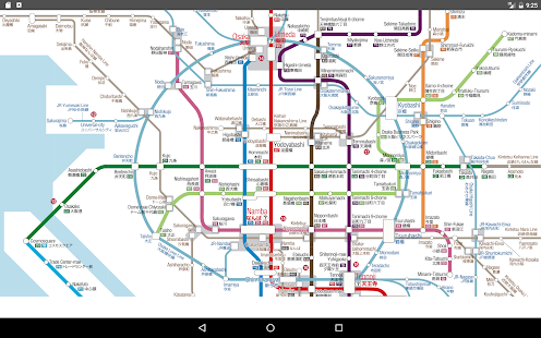 Osaka Metro 2017 Map   Apps on Google Play