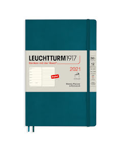Kalender 2021 Leuchtturm1917 B6 vecka/notes Soft