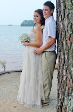 Photo: Romantic Lakeside Wedding Lake Hartwell Anderson, SC http://WeddingWoman.net