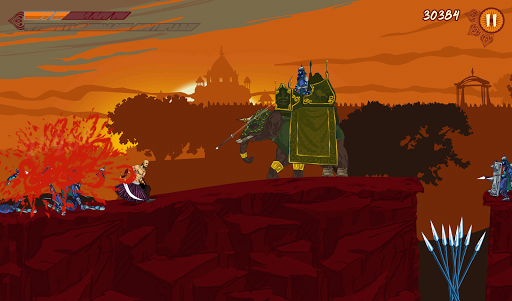 Blazing Bajirao: The Game screenshot 18