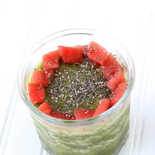 Watermelon Kale Smoothie.