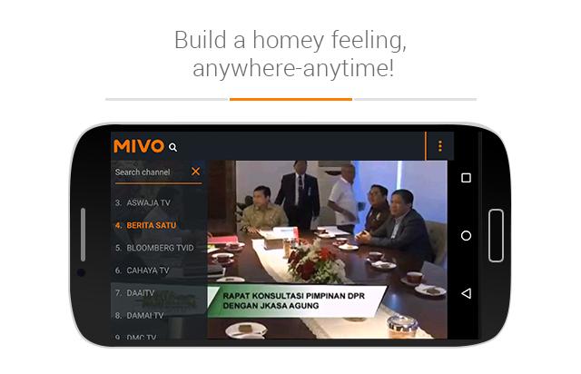 Mivo- screenshot