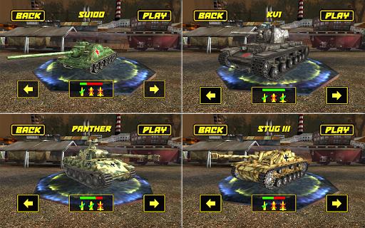Tank Fighter League 3D