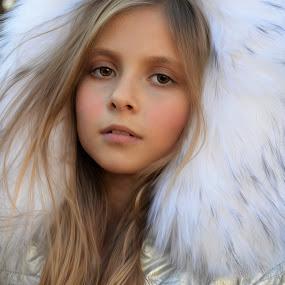 winter weather by Mark Warick - Babies & Children Child Portraits ( ofera )