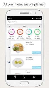MakeMyPlate Diet Meal Planner- screenshot thumbnail