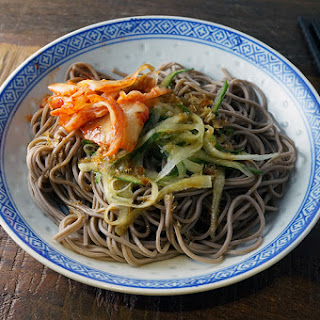Spicy Cucumber Soba Noodles.