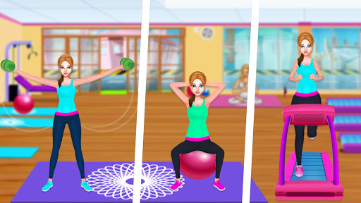 High School Fitness Athlete: Acrobat Workout Game android2mod screenshots 6