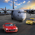 Airplane Car Transport Flight icon