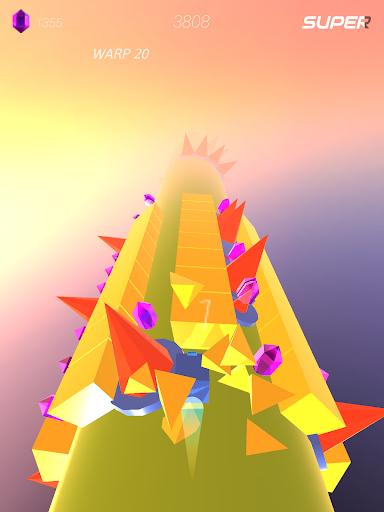 Warp and Roll - running flight action game 1.1.7 screenshots 12