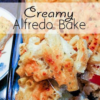 Creamy Alfredo Bake.