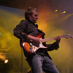 The Guitar player    by Hush Naidoo - People Musicians & Entertainers ( player, guitarist, singer, musician, entertainer,  )