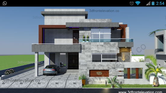 3D Front Elevation .co- screenshot thumbnail