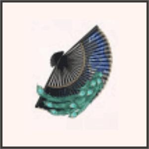 碧羽の扇子