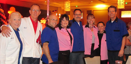 Photo: No Limits Leaders @ Presidents Dinner Feb 2011