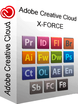 Adobe Creative Cloud X-FORCE box