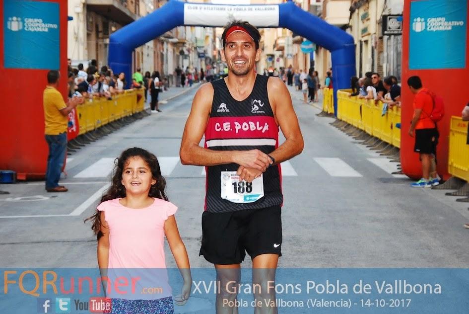 Tercer clasificado XVII Gran Fons Pobla de Vallbona 2017