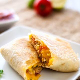 Veggie Quinoa Burritos