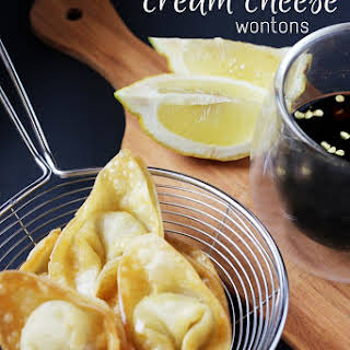 Spicy Cream Cheese Wontons.