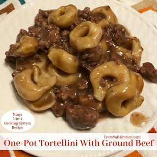 One-Pot Tortellini with Ground Beef Recipe