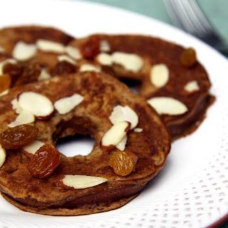 Apple Ring Oat Pancakes