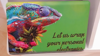 Photo: High quality vehicle wrap material to customize and protect Phones, Tablets, Laptops as well as Cars.