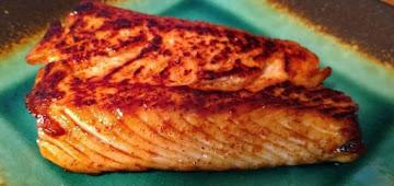 Harissa And Honey Glazed Salmon Recipe