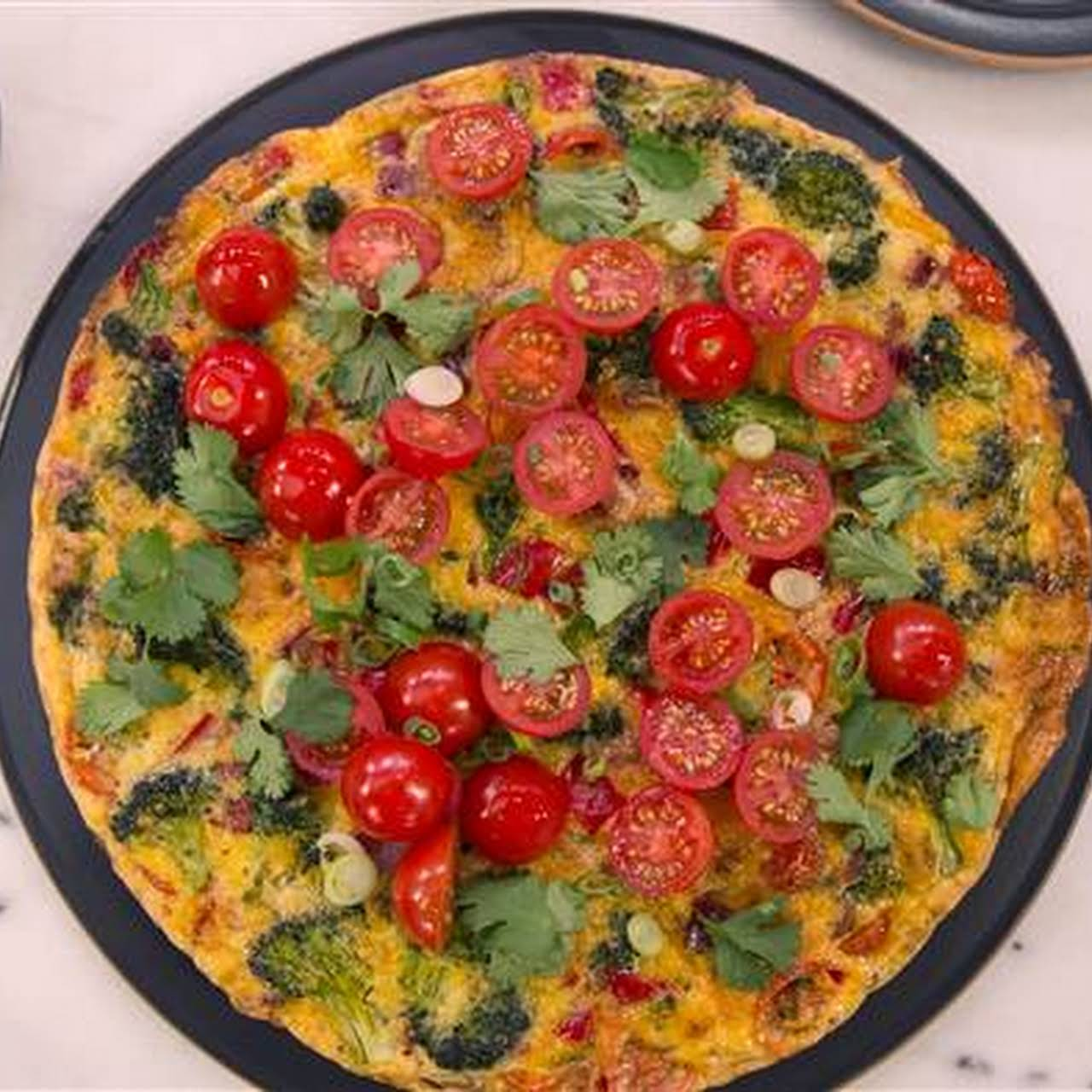Kitchen Sink Vegetable Frittata