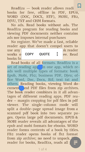 ReadEra - book reader pdf, epub, word 19.12.27+1120 screenshots 4